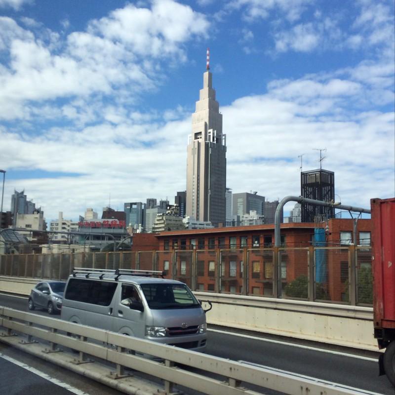 新宿が近づいてきた by haruhiko_iyota