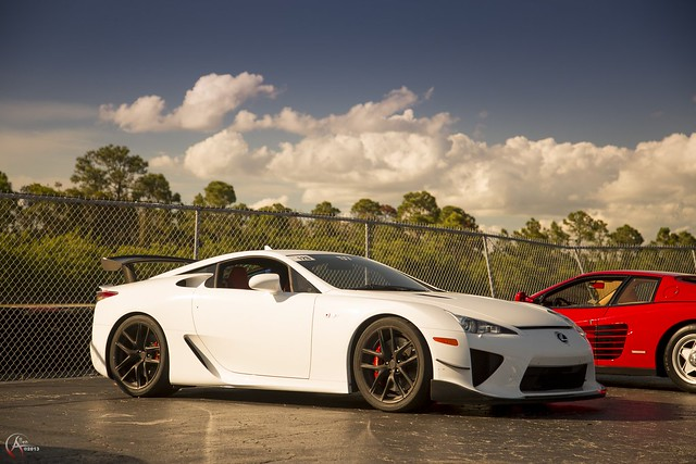 The Lexus LFA