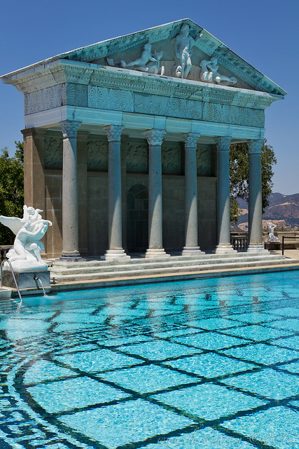 Neptune Pool Temple, Hearst Castle, San Simeon, California