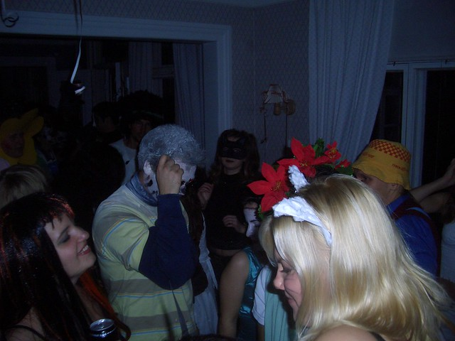 A Halloween party in Finland