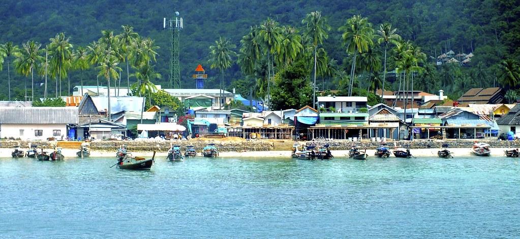 plongée à Phuket Koh Phiphi, petite île au large de Phuket.