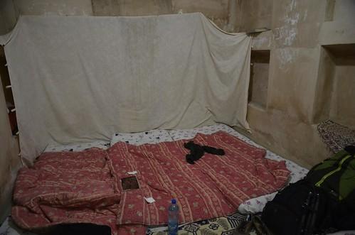 Habitación cuadra del Oasis Hotel de Yazd