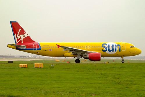 G-VMED Virgin Sun Airbus A320