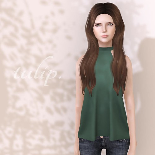 Halterneck Top - FLF by tulip.*Mina