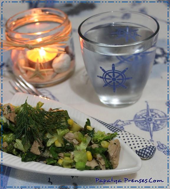 ton balıklı salata 009