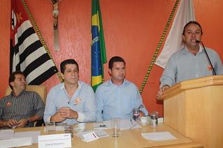 O vereador Prof. Colle, do Solidariedade de Embu-Guaçu