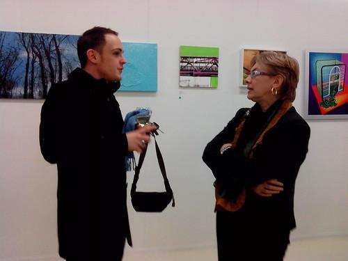 "Conversazione all'inaugurazione ""Libera Mente"" by Ylbert Durishti"