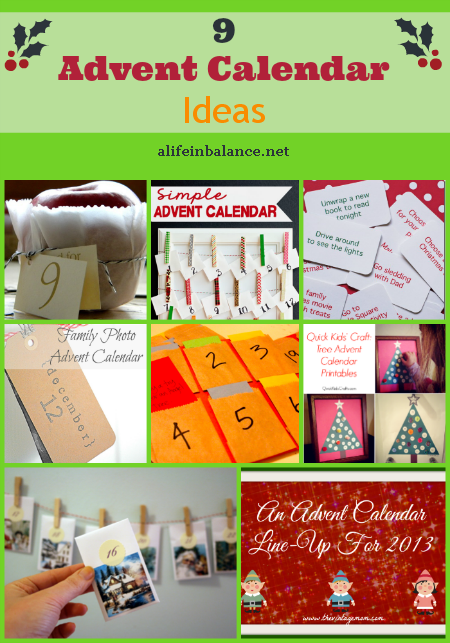 Advent Calendar Ideas/Crafts
