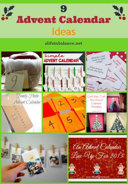 Living Advent Calendar Ideas : Ideas to inspire your advent calendar making a life