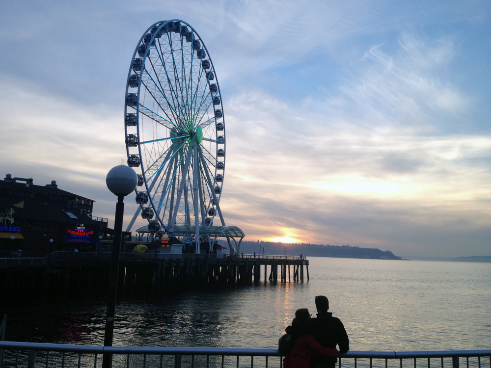 Seattle Great Wheel 1
