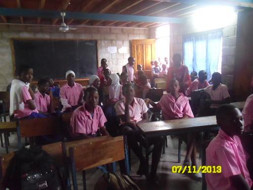 Mikoroshoni School Visit