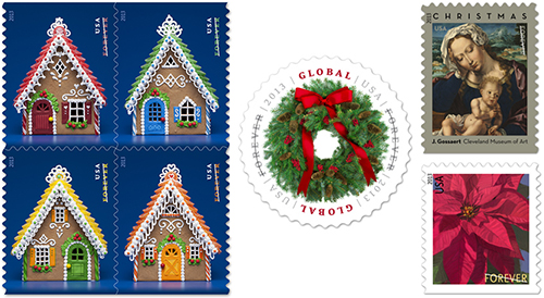 holiday stamps 2013