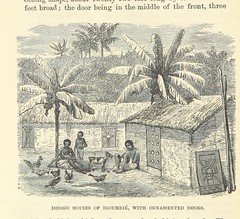 """British Library digitised image from page 444 of """"Adventures in the Great Forest of Equatorial Africa and the country of the dwarfs .. An abridged ... edition ... With ... illustrations"""""""