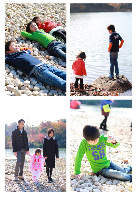 出張撮影 モリコロパーク 愛知県長久手市 公園 屋外 家族写真 子供写真 七五三