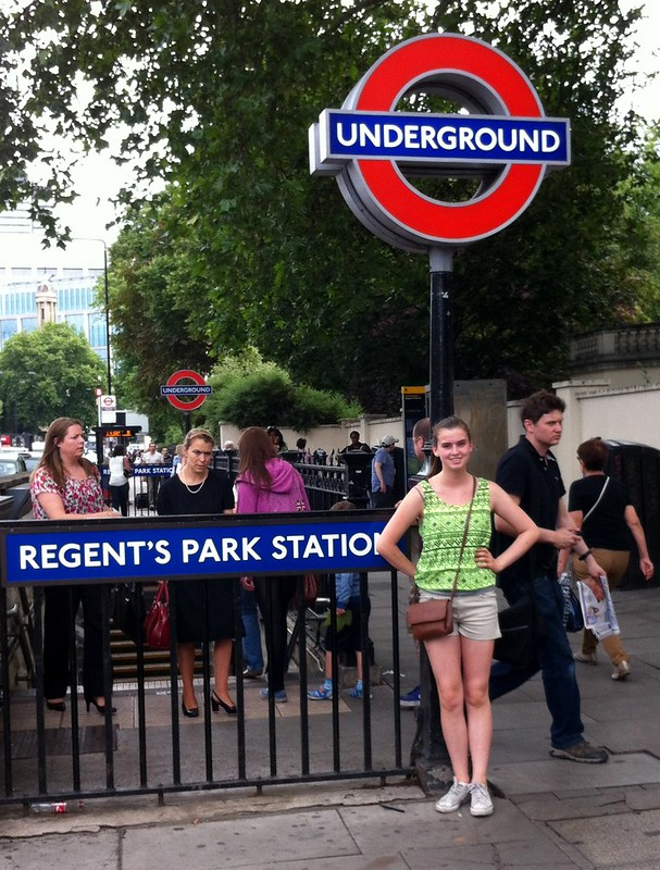 London, Regents Park Station Underground