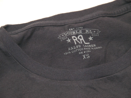 RRL / Long Sleeved Graphic T-Shirt
