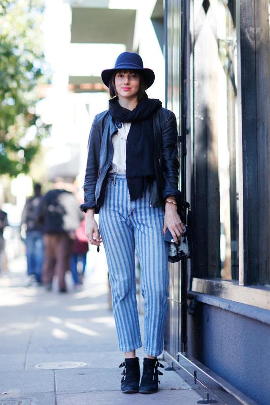 robyn_4b street style, street fashion, women, Valencia Street, San Francisco, Quick Shots