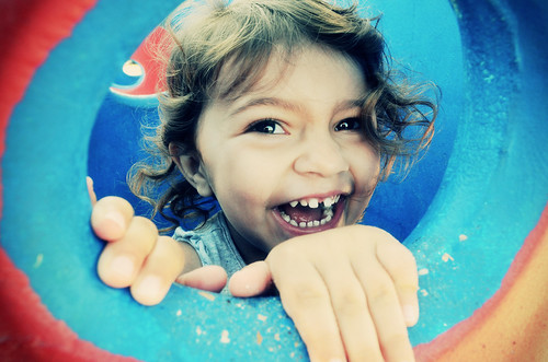 Happiest Little Girl #Flickr12Days by SnyprActiv Studios