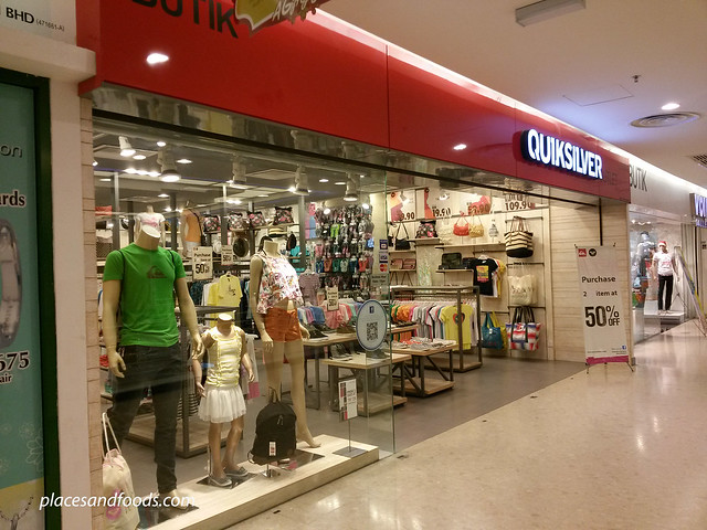 cheras leisure mall quiksilver outlet