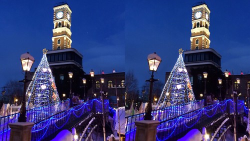 [Daily Cha cha S3-D] Shiroi Koibito Park at Sapporo Hokkaido. Parallele eye 札幌、白い恋人パーク。平行法。