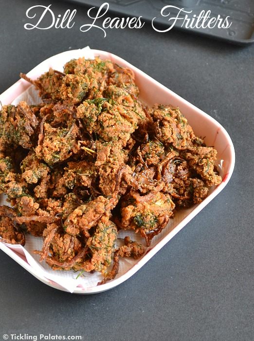 Dill Leaves Pakoras Recipe