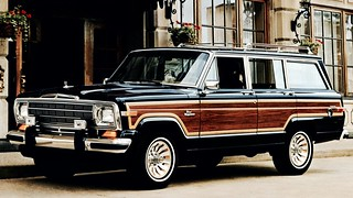 The original luxury SUV. JEEP GRAND WAGONEER