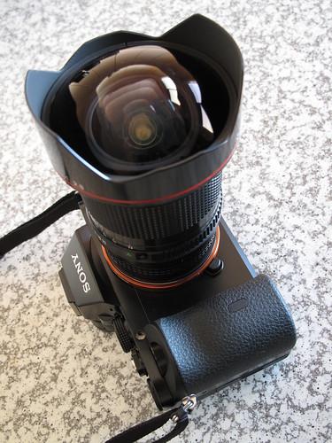SONY Alpha a7 (Alpha 7), New FD 14mm f/2.8L