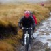 Paul cycles up the hen track river