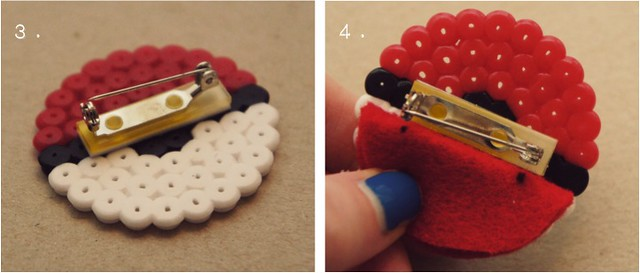 diy pokeball brooch 3