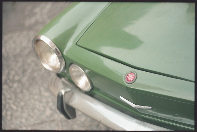 (Vivisection of a Fiat 850 Sport Coupe)