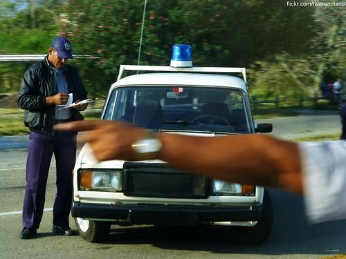 Lada 2107, Policía Nacional Revolucionaria - Cuba