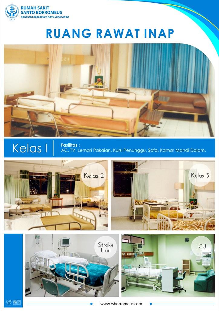 Poster Kamar Rawat Inap Dewasa 1 Cetak Rumah Sakit Santo