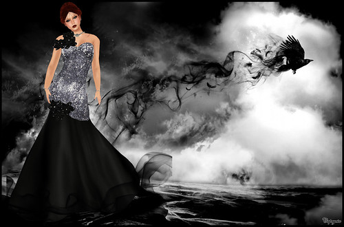 KV SIM - Valentine's Day Haute Couture - AMARELO MANGA by ♥Caprycia♥