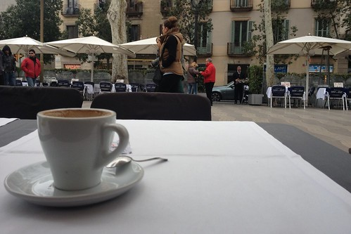 Coffee on La Rambla