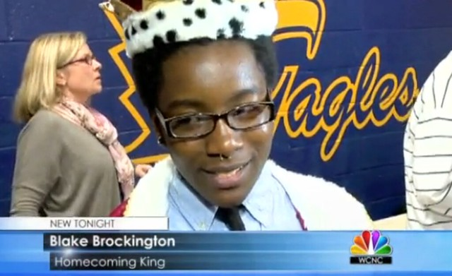homecoming king blake brockington