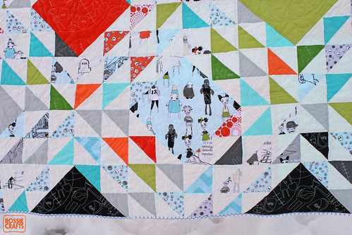 The Zombie Quilt by Rossie