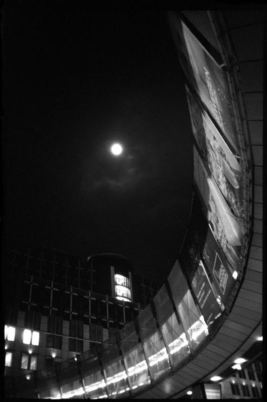 'EU parliament by night' - Brussels, Belgium 2013