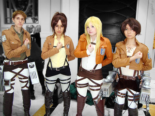 Attack on Titan - Scouting/Survey Corps members