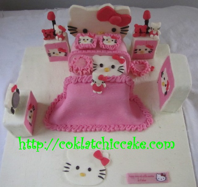 Kue Ulang Tahun Kamar Hello Kitty Flickr Photo