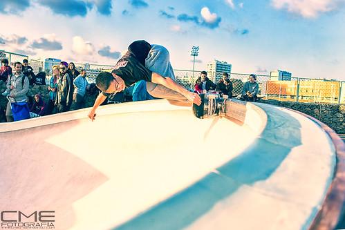 Skatepark de la Marbella de Barcelona by Christyan Martos