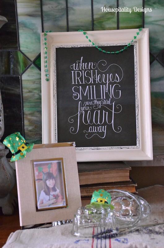 St. Patrick's Day Vignette
