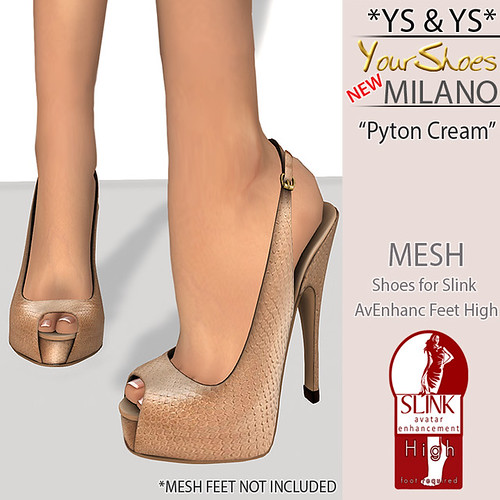 NewMilano Mesh Shoes @ YS&YS by monicuzzababenco