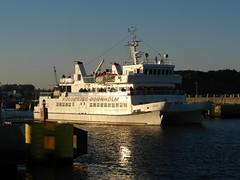 Die MS JANTAR läuft aus Kolobrzeg (PL) nach Nexö (DK) aus