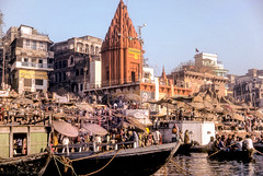 Prayag Ghat and Ganga river, Varanasi