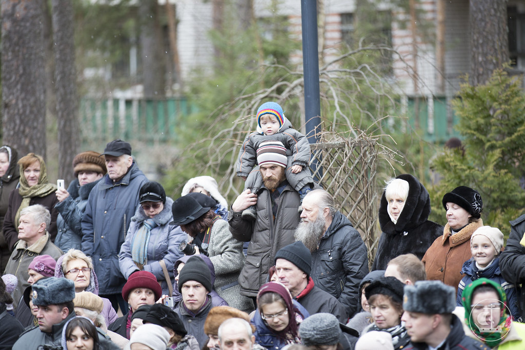 3 апреля 2014, Молебен в Казанском храме Вырицы / 3 April 2014, Moleben in the Kazan church of Vyritsa