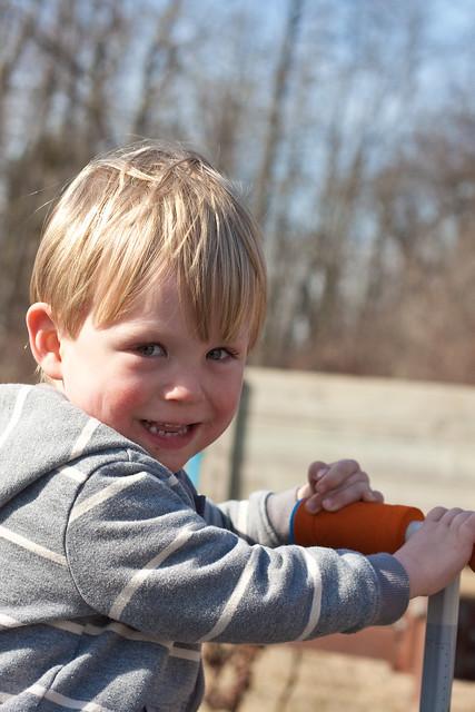 Samuel age 3
