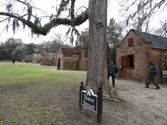 Slavery remains at Boone Hall Mount Pleasant South Carolina.