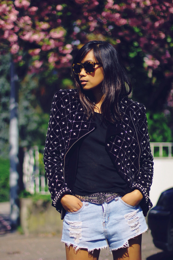 ZARA BALMAIN JACKET BEADED, MODE JUNKIE