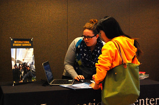 Mobile advising brings the advising to MU international students. The Student Center, where mobile advising sessions are held, is at the heart of campus and provides a convenient location for quick questions to be answered.