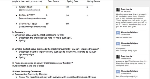 Fitness Goals Screenshot 1
